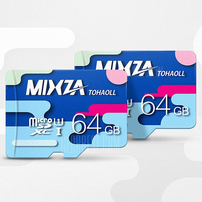 MIXZA TOHAOLL Colorful Series 64GB Micro SD Memory Card 173825804