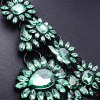 WQ002 Luxury Rhinestone Tassel Alloy Necklace for Ladies deal