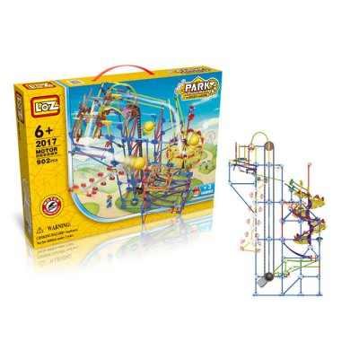 LOZ 2017 Amusement Park Electric Building Block — 902Pcs