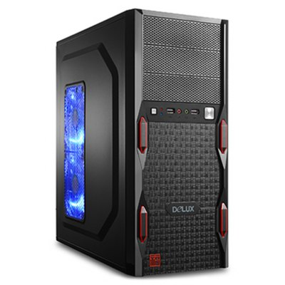 Delux MV416 Computer Cases PC Mainframe