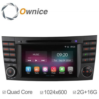 Ownice C200-OL-7949B Android 4.4.2 7.0 inch Car GPS DVD Multi-Media Player for Benz