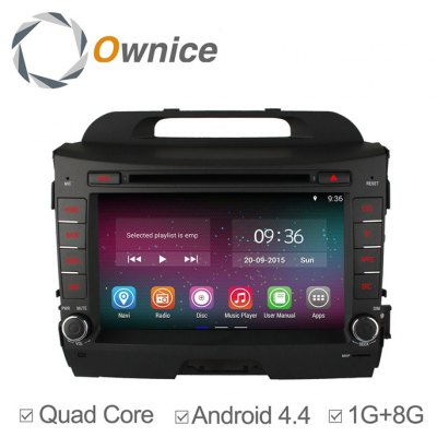 Ownice C200-OL-8732A Android 4.4.2 8.0 inch Car GPS DVD Multi-Media Player for KIA Sportage