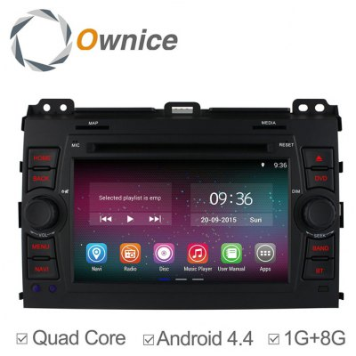Ownice C200-OL-7603A Android 4.4.2 7.0 inch Car GPS DVD Multi-Media Player for Toyota Prado