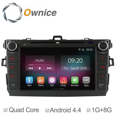 Ownice C200-OL-8602A Android 4.4.2 8.0 inch Car GPS DVD Multi-Media Player for Toyota Corolla