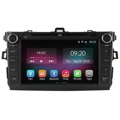 Ownice C200-OL-8602A Android 4.4.2 8.0 inch Car GPS DVD Multi-Media PlayerCar DVD Player<br>Ownice C200-OL-8602A Android 4.4.2 8.0 inch Car GPS DVD Multi-Media Player<br><br>Model: C200-OL-8602A<br>Type: 2-DIN<br>Material: Electronic Components,Metal,Plastic<br>Installation Site: In-Dash<br>Screen type: Digital touch screen<br>Screen size: 8inch<br>Screen resolution: 800 x 480<br>CPU Chips: Cortex A9<br>CPU Main Freq.: 1.6GHz<br>RAM (memory): DDR3 1GB<br>FLASH (internal storage): 8GB<br>AM/FM Radio: AM store 12 stations,FM store 18stations,support RDS function<br>USB/SD Video Format: CD-DA,CD-R,CD-RW,DVCD,DVD+R,DVD+RW,DVD-Audio,DVD-R,DVD-ROM,DVD-RW,DVD-Video,Video CD<br>USB/SD Picture Format: BMP,GIF,JPEG,JPG,PNG<br>Media Format: AAC,AVI,FLAC,FLV,MKV,MOV,MP3,MP4,MPEG,MPG,RM,RMVB,WMA<br>Network : 3G Dongle,WiFi Dongle<br>OSD Language: Chinese,Dutch,English,etc,French,Indonesian,Italian,Japanse,Korean,Malay,Norwegian,Polish,Portuguese,Russian,Spanish,Swedish,Turkish<br>Input: 10.8 - 14.4V<br>Product weight: 3.000 kg<br>Package weight: 3.450 kg<br>Product size (L x W x H): 36.00 x 25.00 x 21.00 cm / 14.17 x 9.84 x 8.27 inches<br>Package size (L x W x H): 40.00 x 29.00 x 25.00 cm / 15.75 x 11.42 x 9.84 inches<br>Package Contents: 1 x Car DVD Player, 1 x AV Cable Harness, 1 x Power Cable Harness, 1 x GPS Antenna, 1 x English User Manual