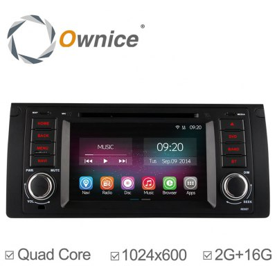 Ownice C200-OL-7957B Android 4.4.2 7.0 inch Car GPS DVD Multi-Media Player for BMW E39 E53 M9