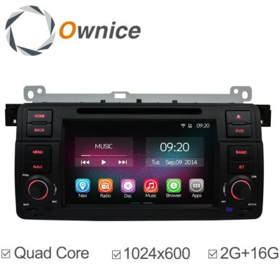 Ownice C200-OL-7956B Android 4.4.2 7.0 inch Car GPS DVD Multi-Media Player for BMW 3 M3