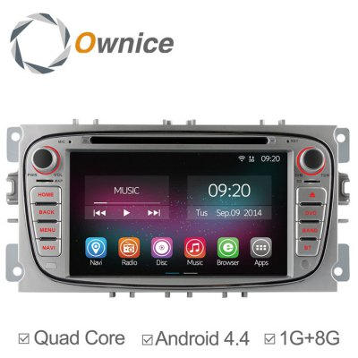 Ownice C200-OL-7202A Android 4.4.2 7.0 inch Car GPS DVD Multi-Media Player for Ford Focus