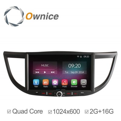 Ownice C200-OL-1645B Android 4.4.2 10.2 inch Car GPS Multi-Media Player for Honda