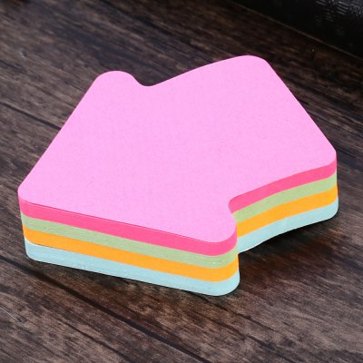 C-007 Creative Arrow Style Four Color Sticky Note