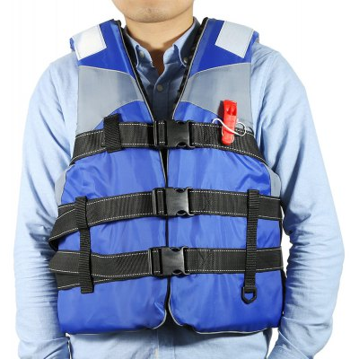 Adult Life Jacket with Whistle