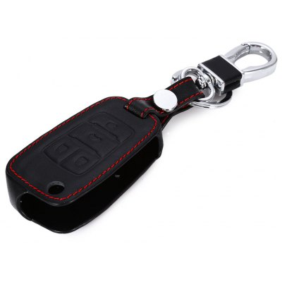 Leather Car Remote Key Holder Case for Chevrolet