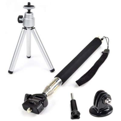 CP-GP190 Selfie Stick Tripod for Action Camera