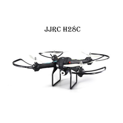 JJRC H28C 2 Mega Camera 2.4G 4CH 6 Axis Gyro Quadcopter One Key Automatic Return with Light RTF  $74.45