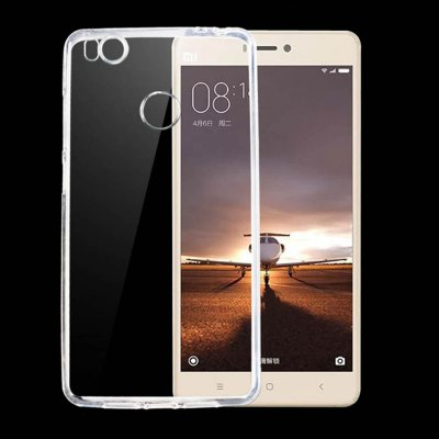 Transparent TPU Protective Back Case for XiaoMi Mi4S