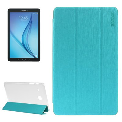 ENKAY 8.0 inch Close Grain PU Leather Protective Case with Stand Function for Samsung Galaxy Tab E T377 / T375