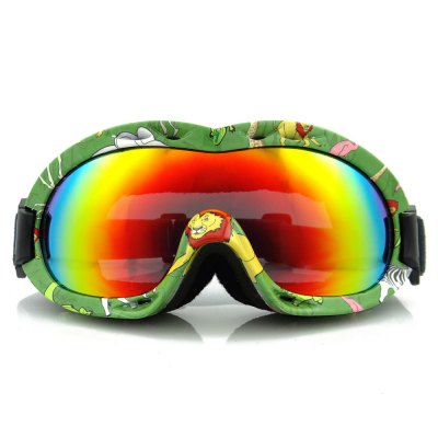 EddieFox HJ - 048 Outdoor Children's Anti-UV Anti-fog Skiing Goggles