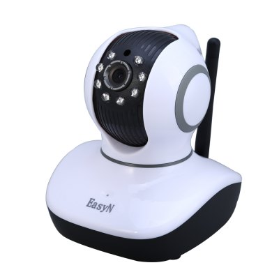 EasyN Mini 10D 1.0MP H.264 CMOS IR-CUT Wireless IP Camera
