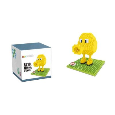 8219 Pixels Game Pac-Man Q-bert Mini Building Block - 317Pcs