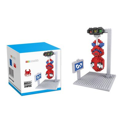 Super Hero Diamond Building Block - 314Pcs