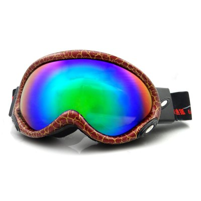 EddieFox HE - 515 Electroplating Anti-fog UV Protection Sunglasses Skiing Goggles