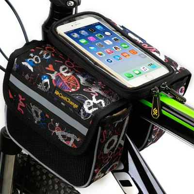 CoolChange 5.0 inches Bicycle Front Tube Bag