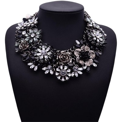 WQ016 Rhinestone Women Necklace