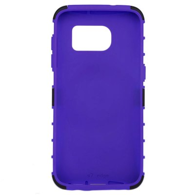 ФОТО Tire Style PC TPU Back Cover Case with Stand for Samsung S7 Edge