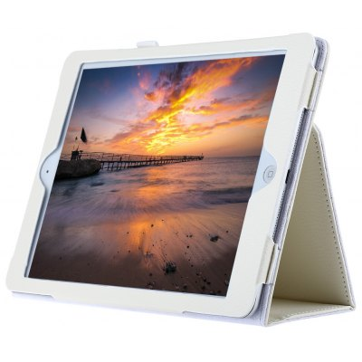 Ultra Slim Lychee Lines Protective Case for iPad Air