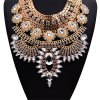 WQ031 Fashion Rhinestone Pendant Necklace for Ladies deal