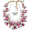 cheap WQ039 Delicate Rhinestone Flower Necklace for Women