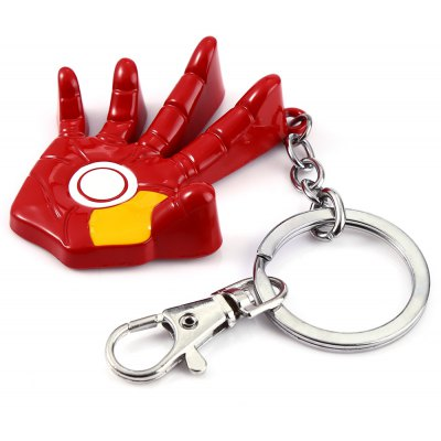 Metal Palm Style Key Ring