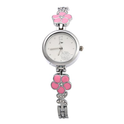 JW 8090L Rose Decoration Women Quartz Watch Alloy BandWomens Watches<br>JW 8090L Rose Decoration Women Quartz Watch Alloy Band<br><br>Brand: Jw<br>Watches categories: Female table<br>Watch style: Fashion<br>Available color: Black,Pink,White<br>Movement type: Quartz watch<br>Shape of the dial: Round<br>Display type: Analog<br>Case material: Alloy<br>Band material: Alloys<br>Clasp type: Sheet folding clasp<br>Dial size: 1.8 x 1.8 x 0.8 cm / 0.71 x 0.71 x 0.31 inches<br>Band size: 20.5 x 0.5 cm / 8.07 x 0.20 inches<br>Wearable length: 20.0 cm / 7.87 inches<br>Product weight: 0.026 kg<br>Package weight: 0.056 kg<br>Product size (L x W x H): 21.00 x 2.00 x 0.80 cm / 8.27 x 0.79 x 0.31 inches<br>Package size (L x W x H): 22.00 x 9.00 x 1.80 cm / 8.66 x 3.54 x 0.71 inches<br>Package Contents: 1 x JW Female Watch