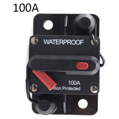 F433-100A Manual Reset Circuit Breaker Brake Protector