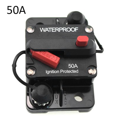 F433-50A Manual Reset Circuit Breaker Brake Protector