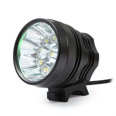Marsing 8.4V 3 Modes 10 LED Cree XML T6 Bicycle LightHeadlights<br>Marsing 8.4V 3 Modes 10 LED Cree XML T6 Bicycle Light<br><br>Material: Aluminum Alloy<br>Color: Black<br>Suitable for: Cross-Country Cycling,Fixed Gear Bicycle,Mountain Bicycle,Road Bike,Touring Bicycle<br>Type: Front Light<br>Placement: Handlebar<br>Features: Easy to Install,Superbright<br>Luminance: 2600 - 2800 lumens<br>LED Quantity: 10<br>Working Time: 4 - 5 hours<br>Product weight: 0.480 kg<br>Packge Weight: 0.600 kg<br>Product Dimension: 5.60 x 5.50 x 5.50 cm / 2.2 x 2.17 x 2.17 inches<br>Package Dimension: 20.00 x 18.00 x 6.00 cm / 7.87 x 7.09 x 2.36 inches<br>Package Contents: 1 x Bicycle Lamp Head, 1 x Battery Set, 1 x Battery Pouch, 2 x Lamp Belt, 2 x O-ring, 1 x Charger Adapter