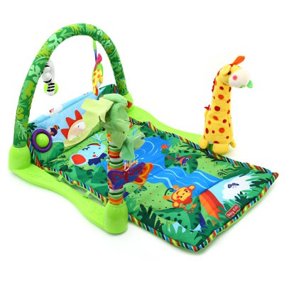 Baby Rainforest Music Game Blanket with Fitness Rack wireless bluetooth headphones music earphone stereo headsets handsfree with mic fm radio tf card slot for iphone samsung xiaomi