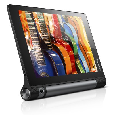 Lenovo Yoga Tab 3 850F Tablet PCTablet PCs<br>Lenovo Yoga Tab 3 850F Tablet PC<br><br>Brand: Lenovo<br>Type: Tablet PC<br>OS: Android 5.1<br>CPU Brand: Qualcomm<br>CPU: APQ8009<br>GPU: Adreno 304<br>Core: 1.3GHz,Quad Core<br>RAM: 2GB<br>ROM: 16GB<br>External Memory: TF card up to 128GB (not included)<br>Support Network: WiFi<br>WIFI: 802.11b/g/n wireless internet<br>GPS: Yes<br>Bluetooth: Yes<br>Screen type: Capacitive,IPS<br>Screen size: 8 inch<br>Screen resolution: 1280 x 800<br>Camera type: Single camera<br>Back camera: 8.0MP<br>TF card slot: Yes<br>Micro USB Slot: Yes<br>3.5mm Headphone Jack: Yes<br>DC Jack: Yes<br>Battery Capacity(mAh): 3.8V / 6200mAh<br>AC adapter: 100-240V 5V 1.5A<br>G-sensor: Supported<br>Skype: Supported<br>Youtube: Supported<br>Speaker: Supported<br>MIC: Supported<br>Picture format: BMP,GIF,JPEG,JPG,PNG<br>Music format: MP3,WAV,WMA<br>Video format: 3GP,AVI,MP4,WMV<br>E-book format: TXT,Word<br>Pre-installed Language: Android OS supports multi-language<br>Additional Features: Bluetooth,Browser,GPS,Gravity Sensing System,MP3,MP4,Wi-Fi<br>Product size: 21.00 x 14.60 x 0.70 cm / 8.27 x 5.75 x 0.28 inches<br>Package size: 28.30 x 17.50 x 5.50 cm / 11.14 x 6.89 x 2.17 inches<br>Product weight: 0.466 kg<br>Package weight: 1.067 kg<br>Tablet PC: 1<br>Charger: 1