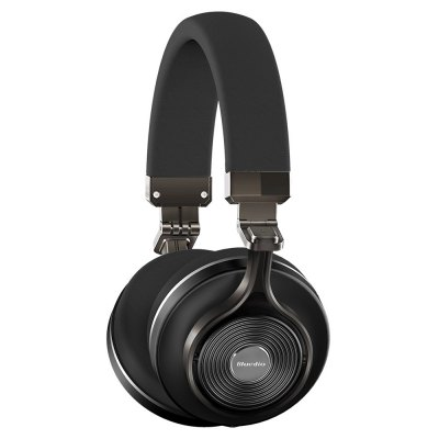 Bluedio T3 Plus Bluetooth HeadphonesBluetooth Headphones<br>Bluedio T3 Plus Bluetooth Headphones<br><br>Application: Portable Media Player, Mobile phone, Computer<br>Bluetooth distance: W/O obstacles ?10m<br>Bluetooth mode: Headset, Hands free<br>Bluetooth protocol: A2DP,AVRCP,HFP,HSP<br>Bluetooth Version: V4.1 + EDR<br>Brand: Bluedio<br>Charging Time.: 2 hours<br>Color: Black<br>Compatible with: Computer<br>Connecting interface: Micro USB, Micro SD Card, 3.5mm<br>Connectivity: Wired and Wireless<br>Driver type: Dynamic<br>Driver unit: 57mm<br>External Memory: Micro SD Card<br>Frequency response: 15Hz~25KHz<br>Function: Bluetooth, Microphone, Answering Phone, Multi connection function, Song Switching, Voice control<br>Impedance: 16ohms<br>Language: English<br>Material: Zinc Alloy<br>Max. of External memory: 32GB<br>Model: T3 Plus<br>Music Time: 20 hours<br>Package Contents: 1 x Bluedio T3 Plus Bluetooth Headphones, 1 x 3.5mm Audio Cable, 1 x USB Charge Cable, 1 x Carry Bag, 1 x English User Manual<br>Package size (L x W x H): 25.10 x 17.00 x 9.50 cm / 9.88 x 6.69 x 3.74 inches<br>Package weight: 1.0270 kg<br>Product size (L x W x H): 18.60 x 8.50 x 20.00 cm / 7.32 x 3.35 x 7.87 inches<br>Product weight: 0.3880 kg<br>Sensitivity: 116dB<br>Sound channel: Two-channel (stereo)<br>Standby time: 1100 hours<br>Talk time: 20 hours<br>Type: On-ear<br>Wearing type: Headband