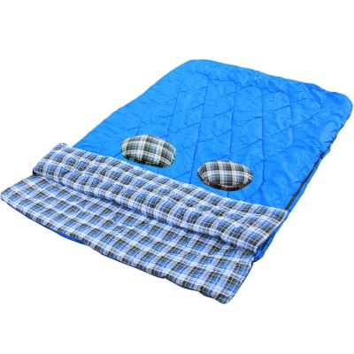 GAZELLE OUTDOORS Flannel 2-Person Sleeping Bag