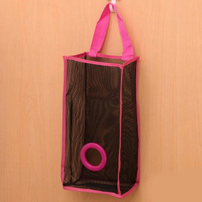 Breathable Mesh  Hanging Type Garbage Bags Holder