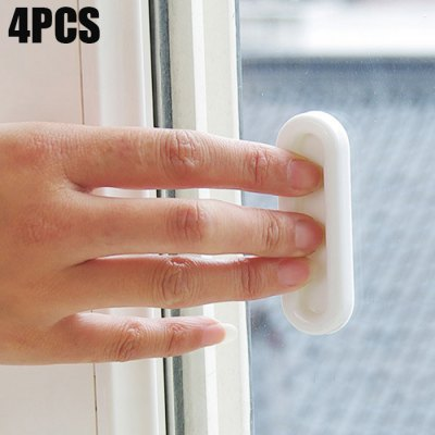 4PCS Multi-functional Doors and Windows Opening Auxiliary Handle