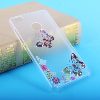 Diamond Style Transparent PC Case for Xiaomi 4S