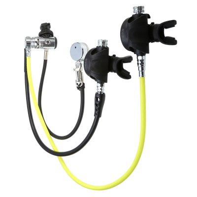 EZDIVE AKUANA RSOW01 OW Air Balanced Regulator SetDiving<br>EZDIVE AKUANA RSOW01 OW Air Balanced Regulator Set<br><br>Brand: AKUANA<br>Color: Black<br>Product weight: 2.000 kg<br>Package weight: 2.500 kg<br>Product size: 111.50 x 10.50 x 10.50 cm / 43.9 x 4.13 x 4.13 inches<br>Package size: 50.00 x 13.00 x 13.00 cm / 19.69 x 5.12 x 5.12 inches<br>Package Content: 1 x Regulator 1st Stage F1, 2 x Regulator 2nd Stage REG2-F2, 1 x Low Press Hose 30 inches, 1 x Low Press Hose 38 inches HS-LP38N, 1 x High Press Hose 24 inches HS-HP24, 1 x Pressure Gauge PG002, 1 x B