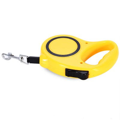 5m One-handed Lock Retractable Pet Leash