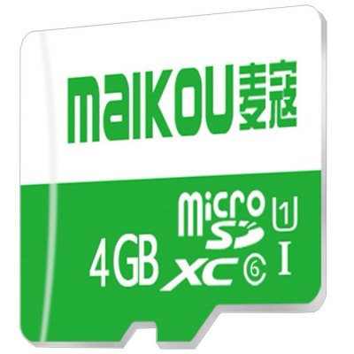 Maikou 4GB SDHC Micro SD Card