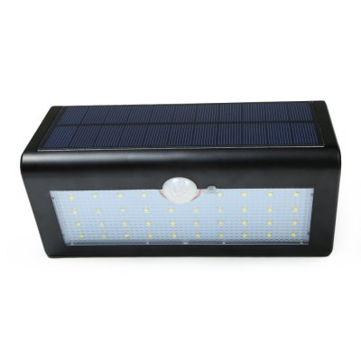 38 LEDs Solar Powered Motion Sensor LightOutdoor Lights<br>38 LEDs Solar Powered Motion Sensor Light<br><br>Is Bulbs Included: Yes<br>Is Dimmable: No<br>Light Source: LED Bulbs<br>Package Contents: 1 x 38 LEDs Solar Motion Light, 1 x Bilingual User Manual in English and Chinese, 1 x Pack of Accessories<br>Package Size(L x W x H): 21.50 x 12.00 x 9.50 cm / 8.46 x 4.72 x 3.74 inches<br>Package weight: 0.543 kg<br>Product weight: 0.434 kg<br>Style: Modern