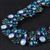 WQ043 Delicate Rhinestone Flower Necklace for Women for sale