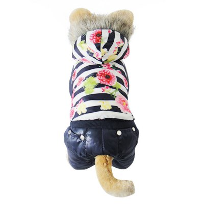 Four Feet Pet Dog Cotton Coat