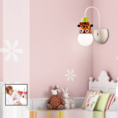 Cartoon Giraffe LED Wall Light